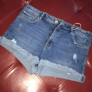 Zara jean stretch shorts